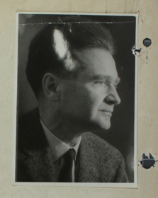 Picture of Emil Cioran from his Securitate file