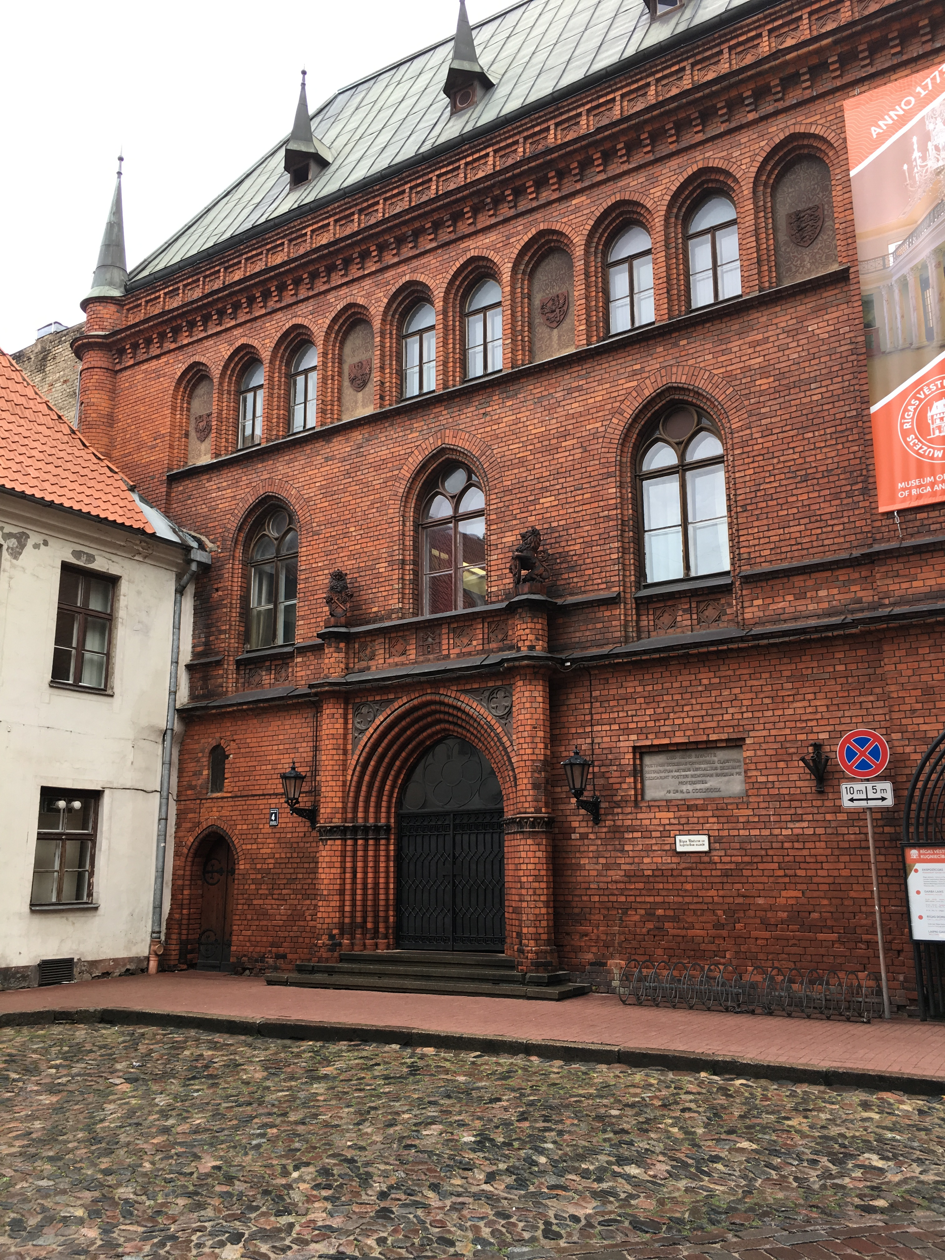 Building of the Museum of the History of Riga and Navigation