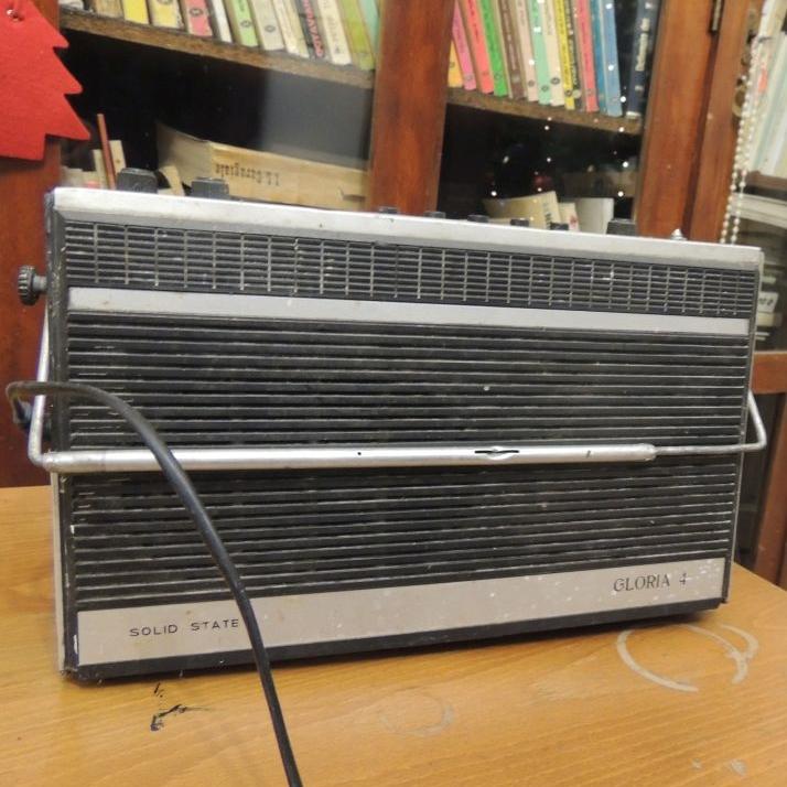 Aparatul de radio folosit de Ion Monoran și grupul său de poeți nonconformiști pentru a asculta postul Radio Europa Liberă