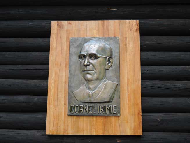 The Bas-relief Bust of Cornel Irimie