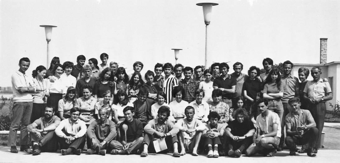 Youth Folk Artist's camp, Fadd-Dombori, 1971.