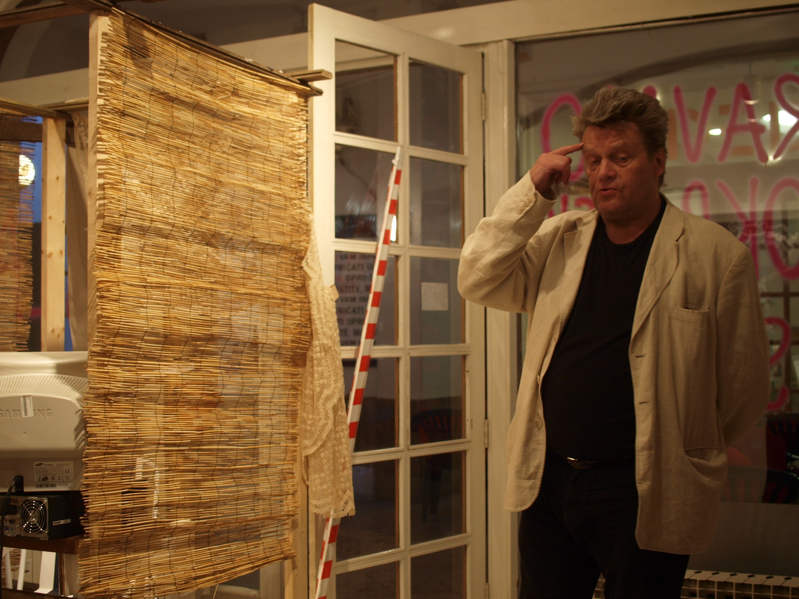Tamás St.Auby at Galerija Nova, Istanbul Biennal, 2009