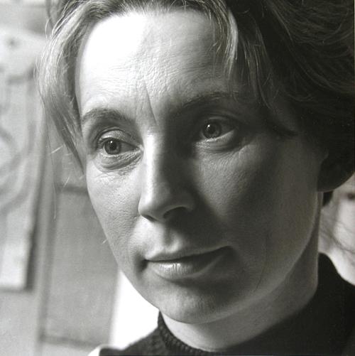 Portrait of Eva Kmentová by Karel Kuklík, 1960s