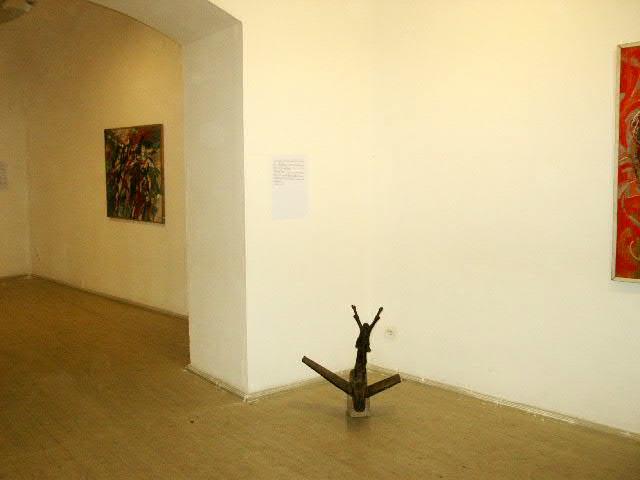 Exhibition view, Studio Gallery, Budapest, 2004