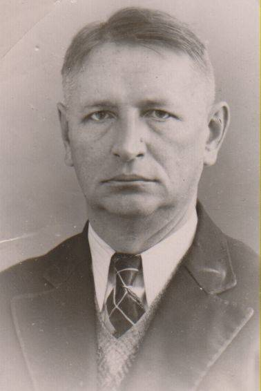 Writer Balys Sruoga, Kaunas, 1938.