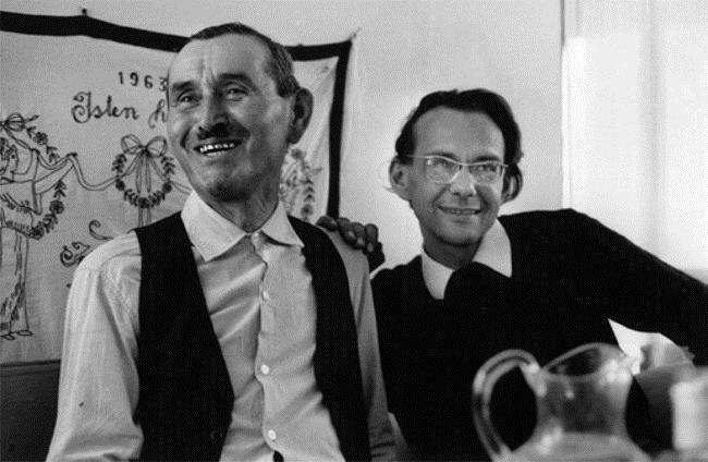 Photo aobut Mátyás István (left side) and Martin György (right)