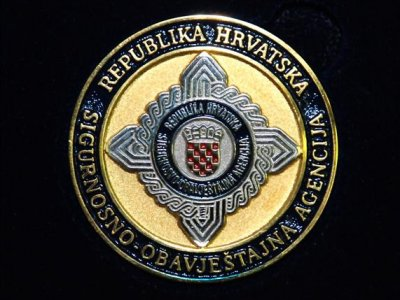 The logo of the Security and Intelligence Agency of the Republic of Croatia.