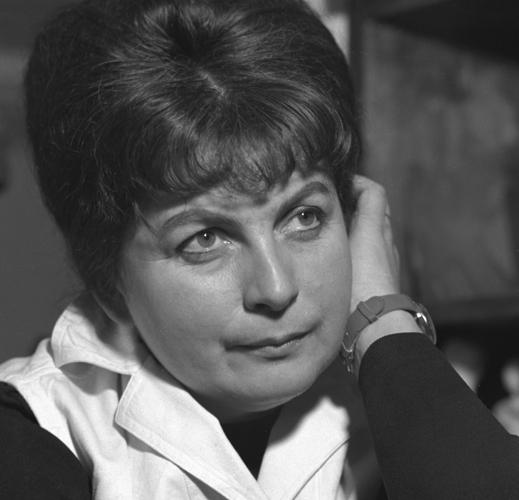 Portrait of Věra Janoušková by Karel Kuklík, 1960s