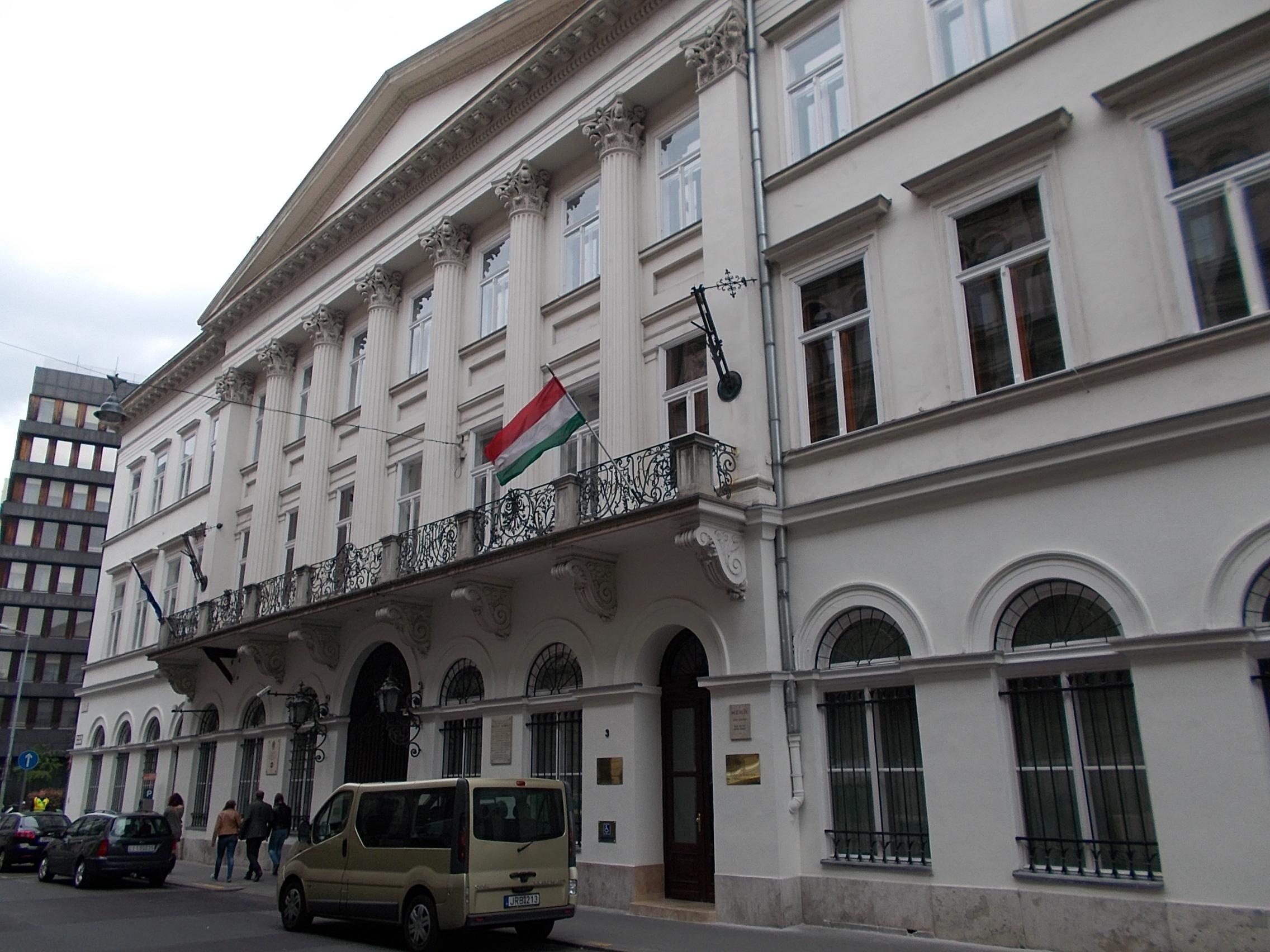 Az Emberi Erőforrások Minisztériumának épülete, 2015.