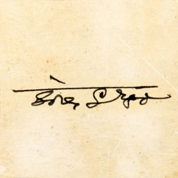 Signature of Grgo Šore.