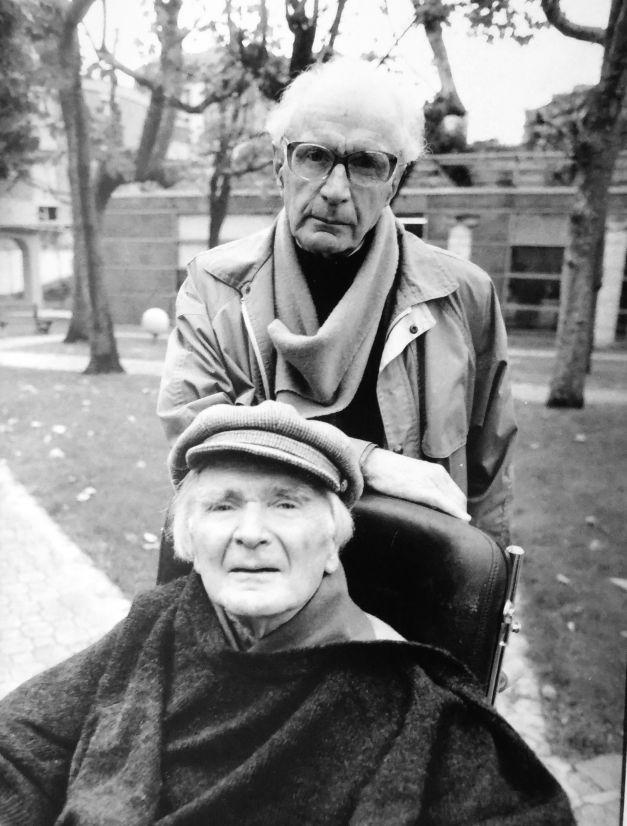 Aurel Cioran visiting his brother in Paris during 1990s