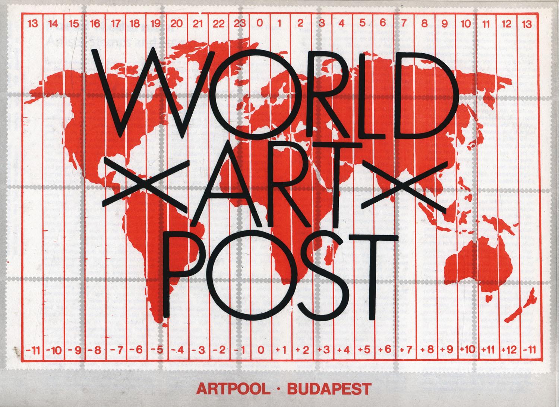 Cover of the World Art Post catalogue, Artpool, 1982