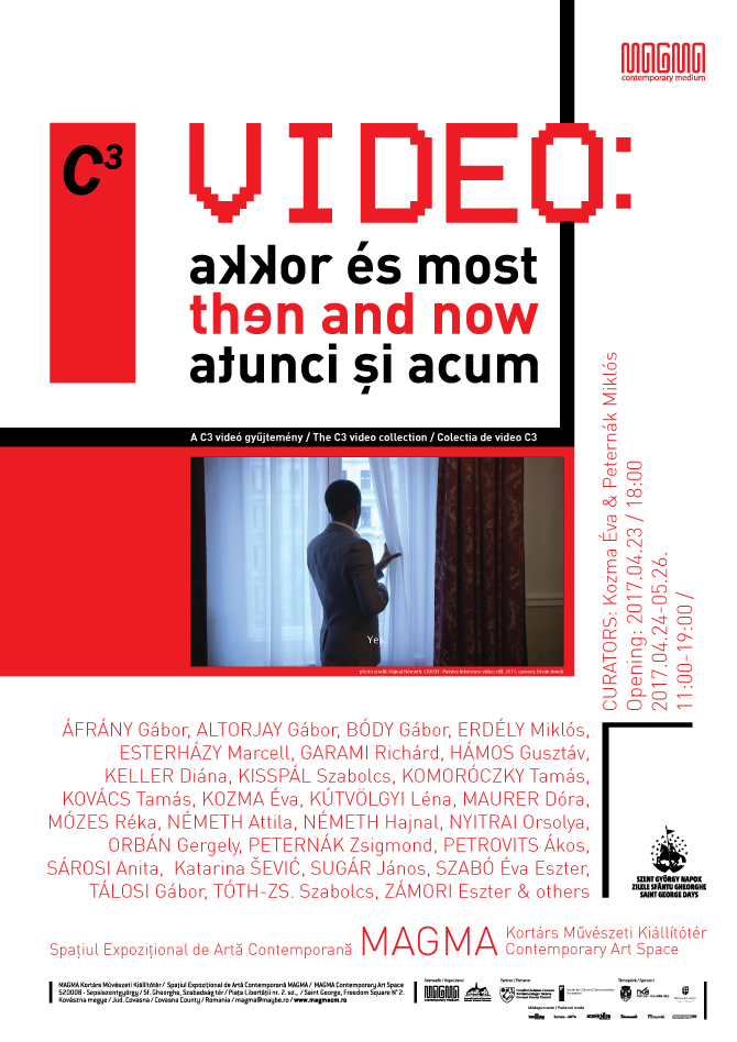 Poster of the exhibition VIDEO: then and now