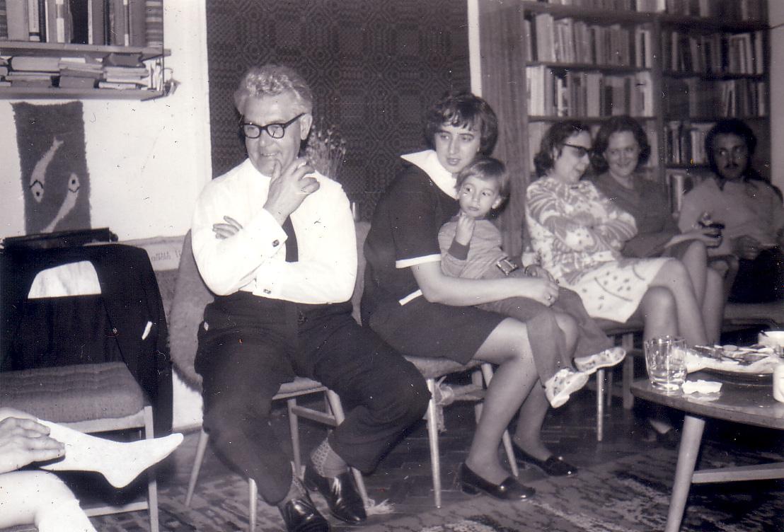 György Bulányi among the Bokor-members, 1977.