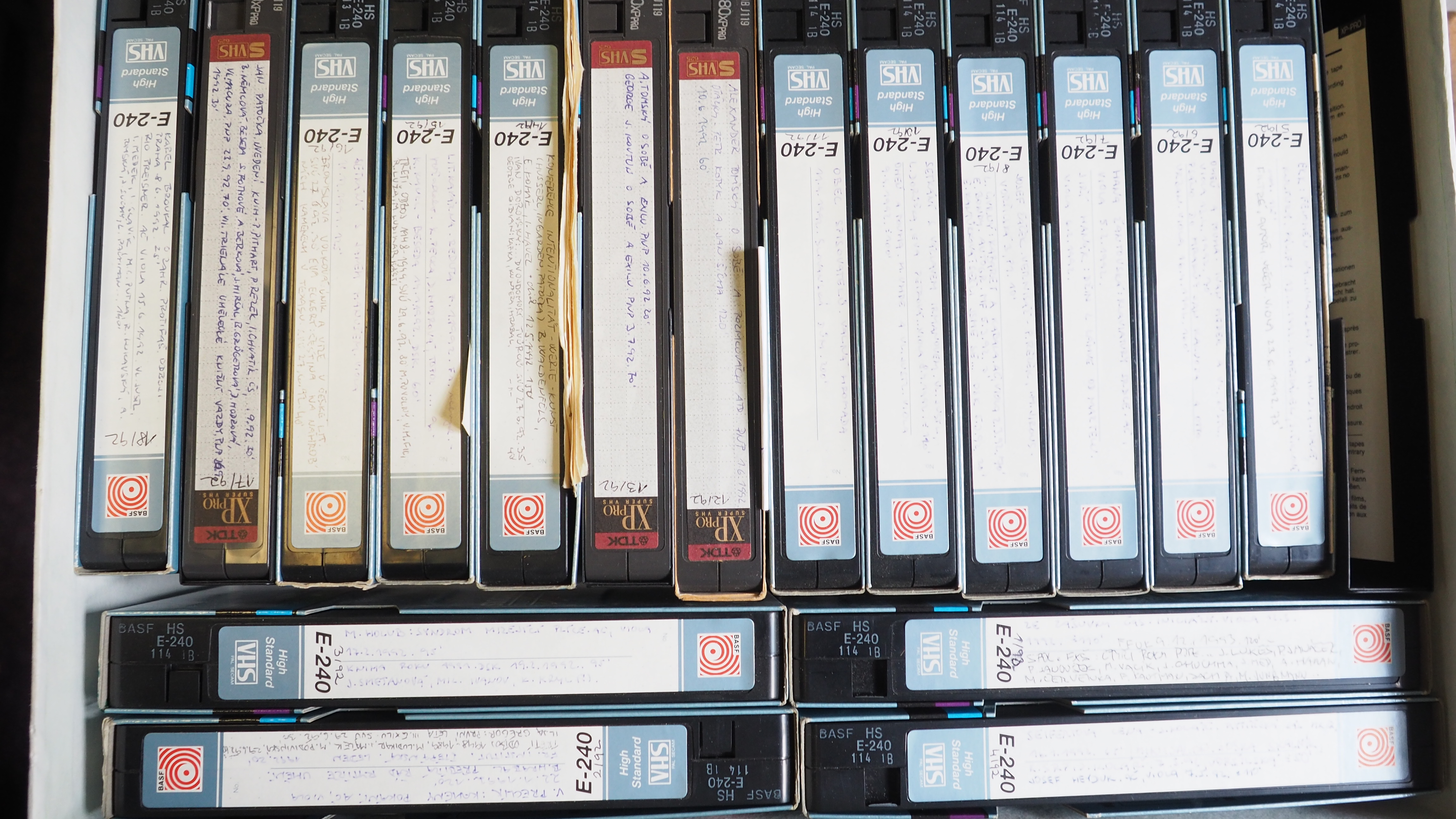 Video and Audio Library of the Literary Archive of the Museum of Czech Literature