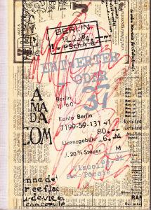 Entwerter/oder 37, 'Visuelle Poesie', 1989