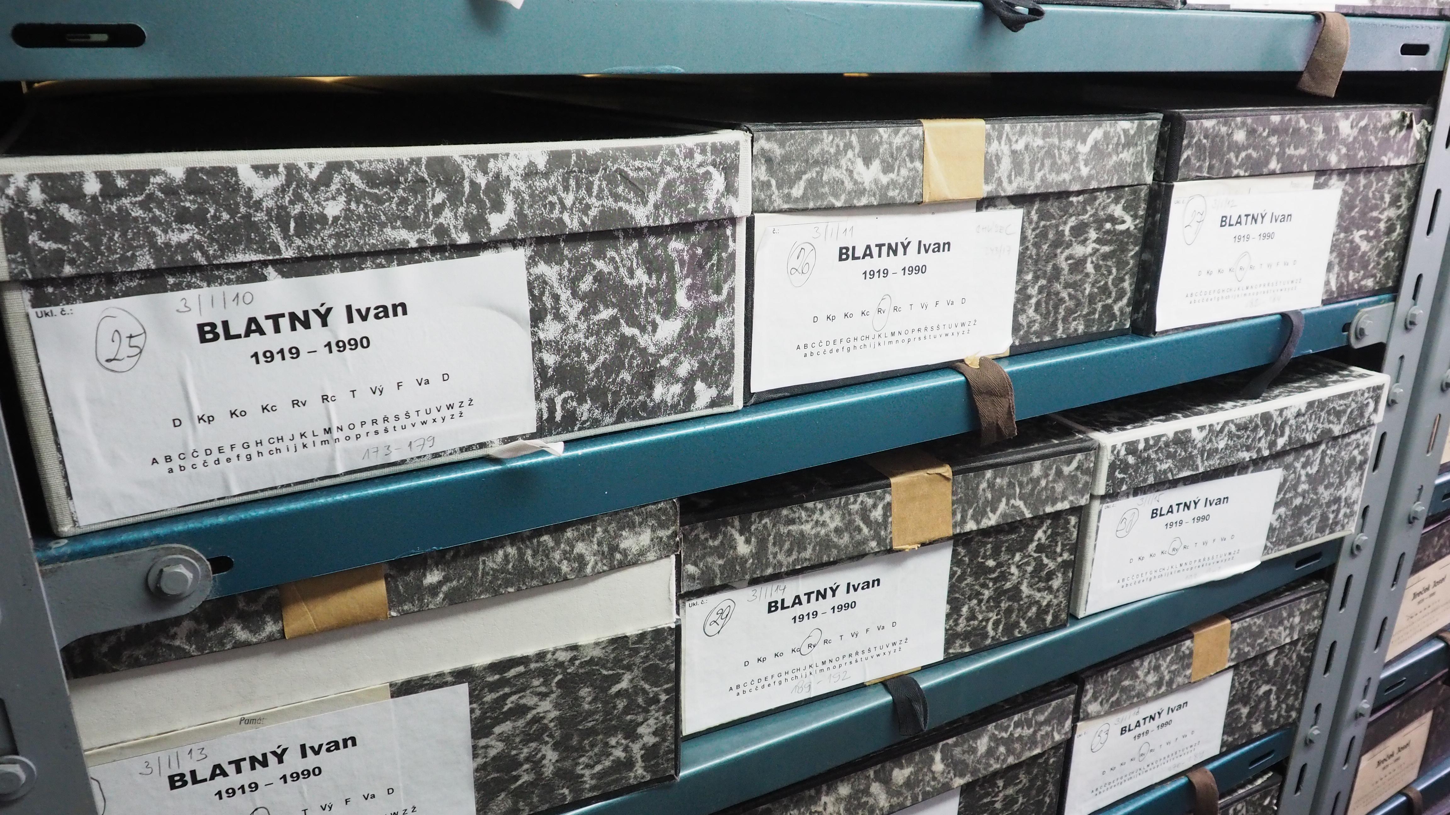 Ivan Blatný Collection