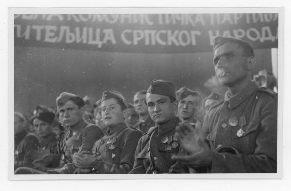 First Congress of Serbs in Croatia, September 1945