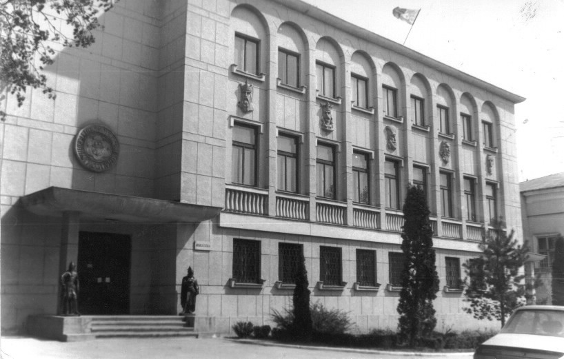 The current headquarters of the Iași Branch of the Romanian National Archives (SJAN). 26, Carol I Blvd.