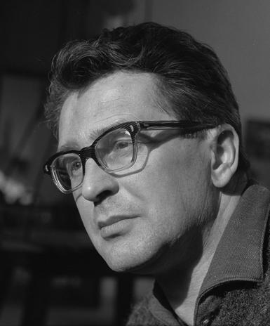 Portrait of Vladimír Janoušek by Karel Kuklík, 1960s