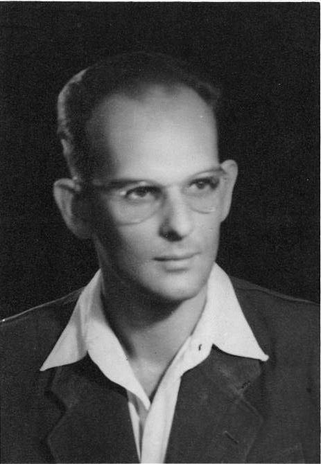 Iljko Karaman, in his younger years. Photo source provided courtesy of a family friend, Mrs Snježana Zima b. Znidarčić.