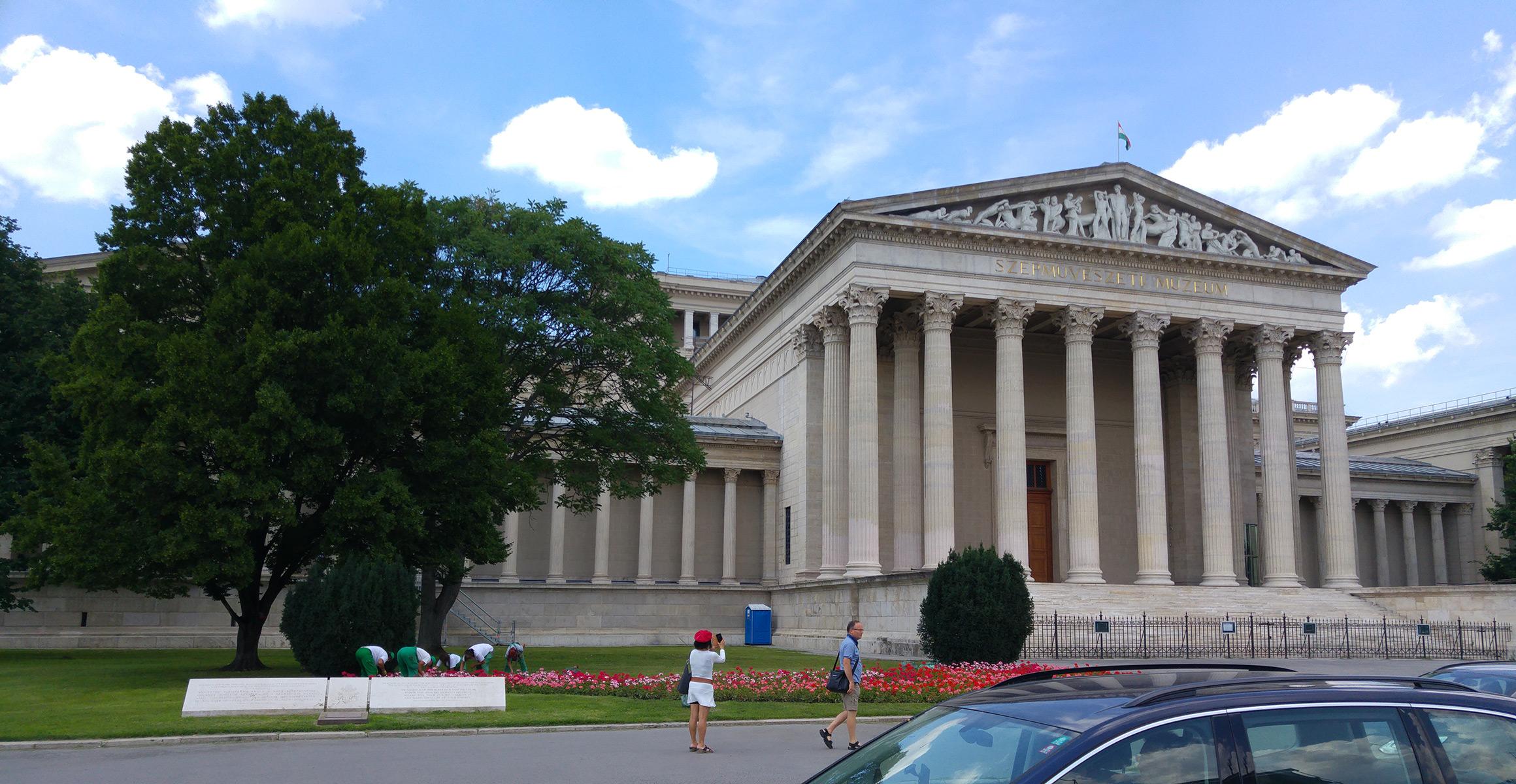 The Museum of Fine Arts, BudapestSzépművészeti Múzeum, Budapest