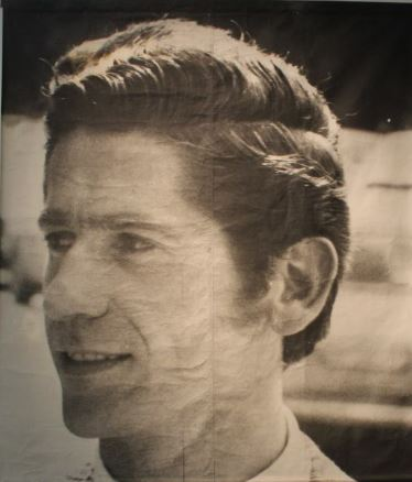 Photograph of a casual passer-by in Zagreb. The photograph is a part of the permanent display in the Museum of Contemporary Art.