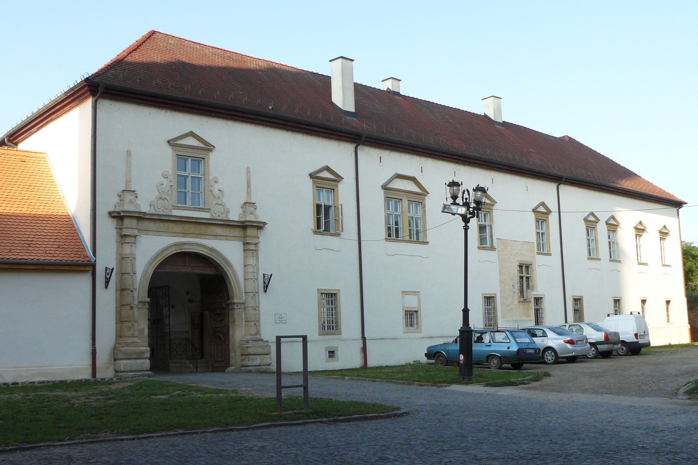 The episcopal palace of the Roman Catholic Archbishopric of Alba Iulia