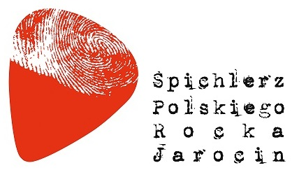 Logo of the Spichlerz Polskiego Rocka - the branch of the Regional Museum in Jarocin.