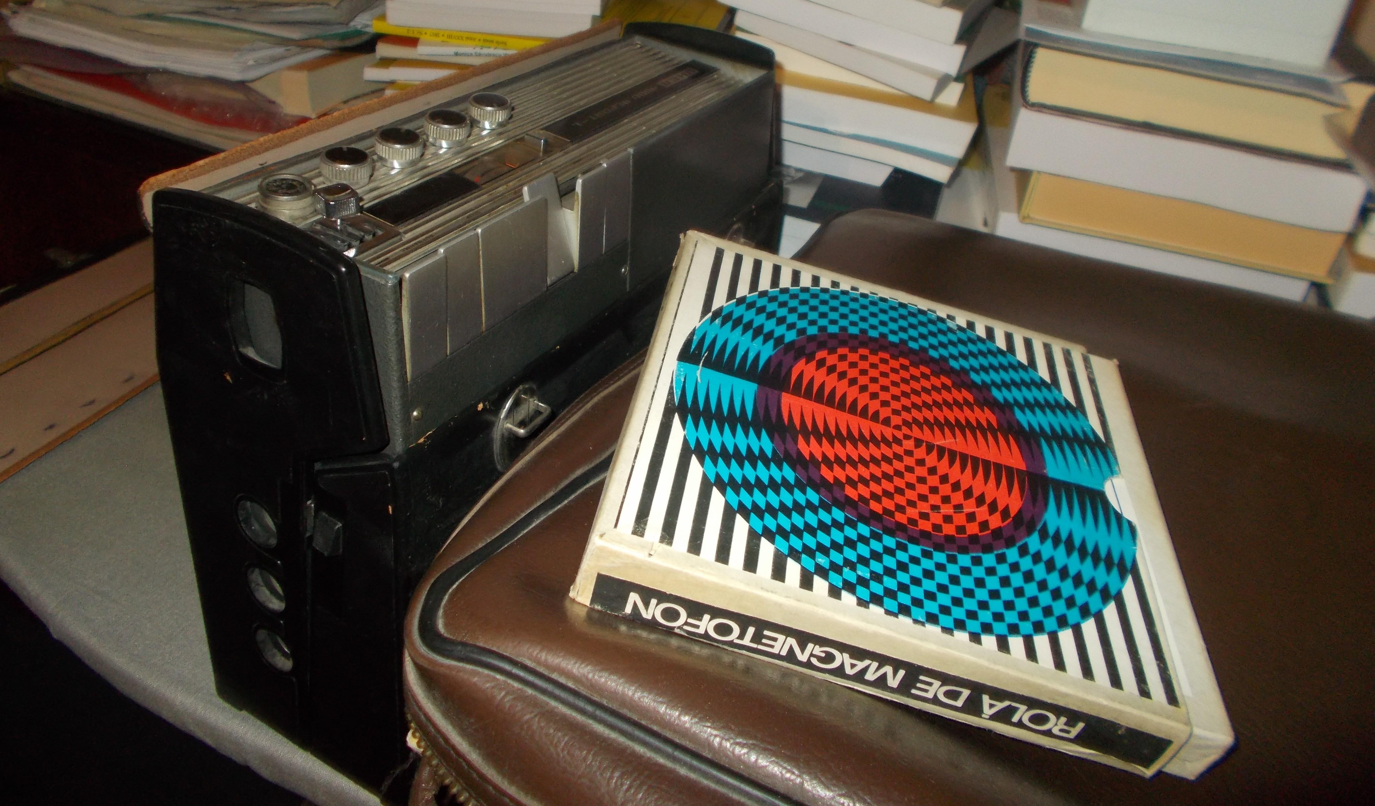Magnetofonul UHER al lui Zoltán Rostás