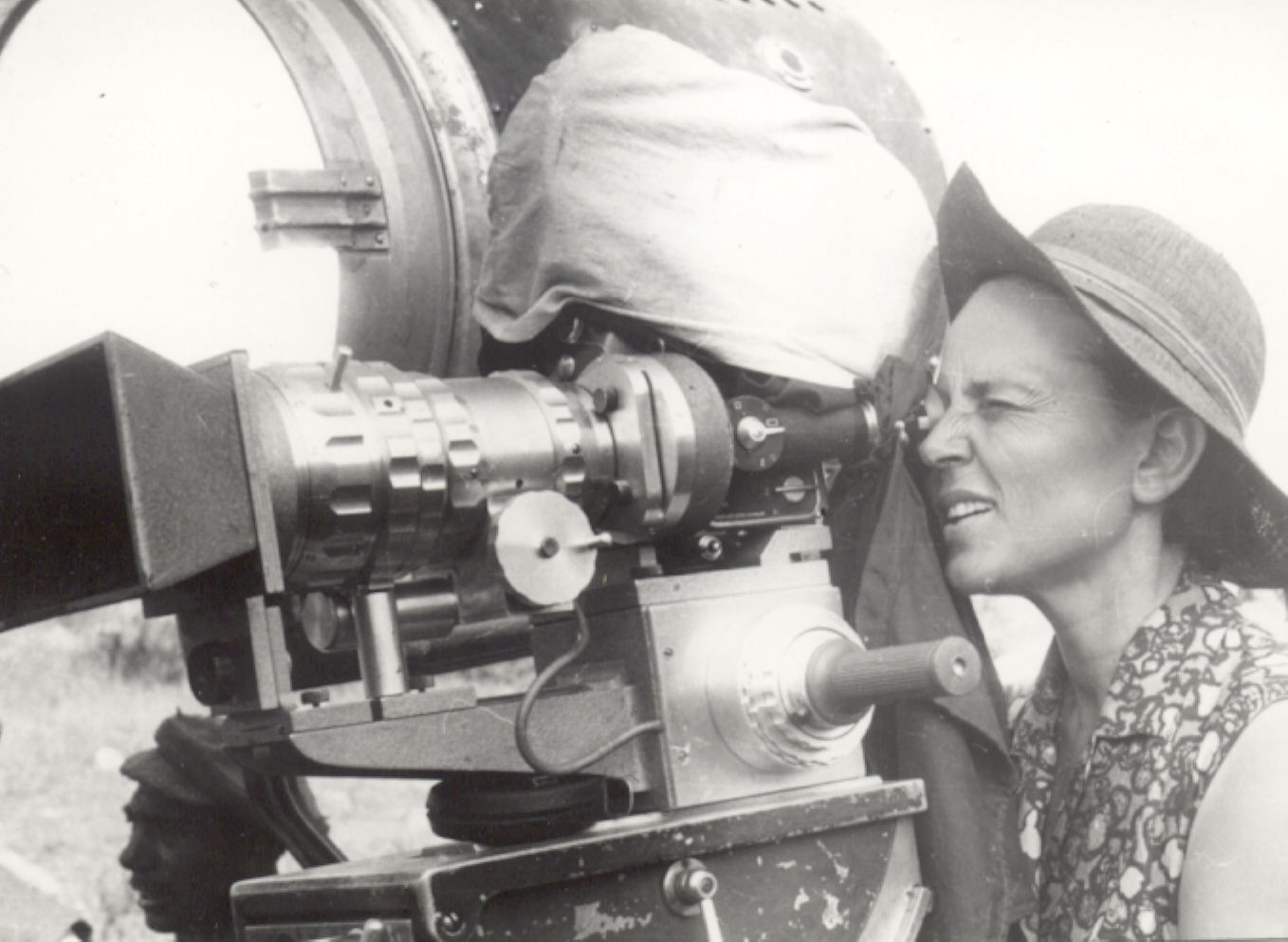 Film director Binka Zhelyazkova at work, 1967