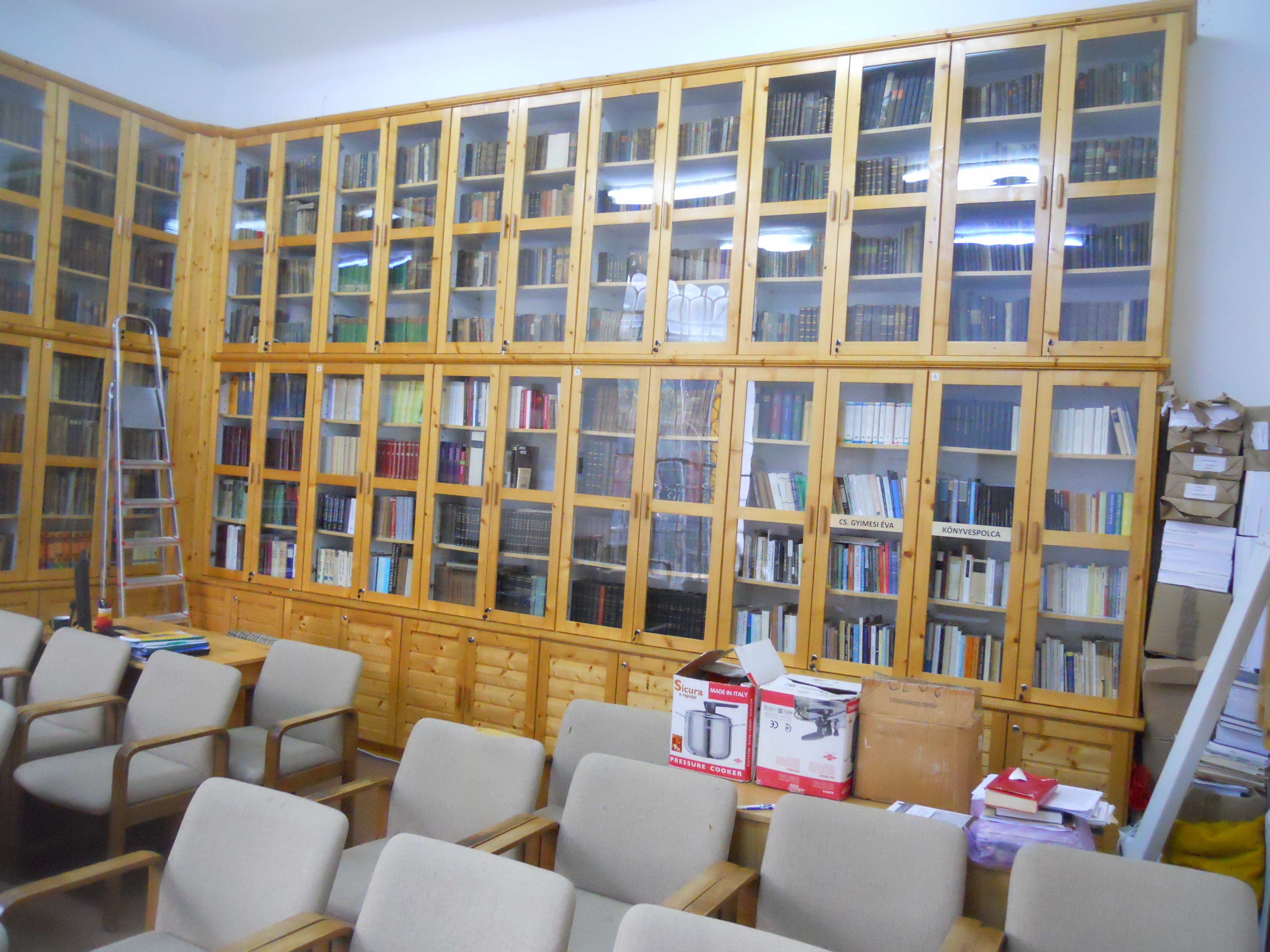 Éva Cseke-Gyimesi Collection at BCU Cluj-Napoca (Library of the Institute of Hungarian Literature)