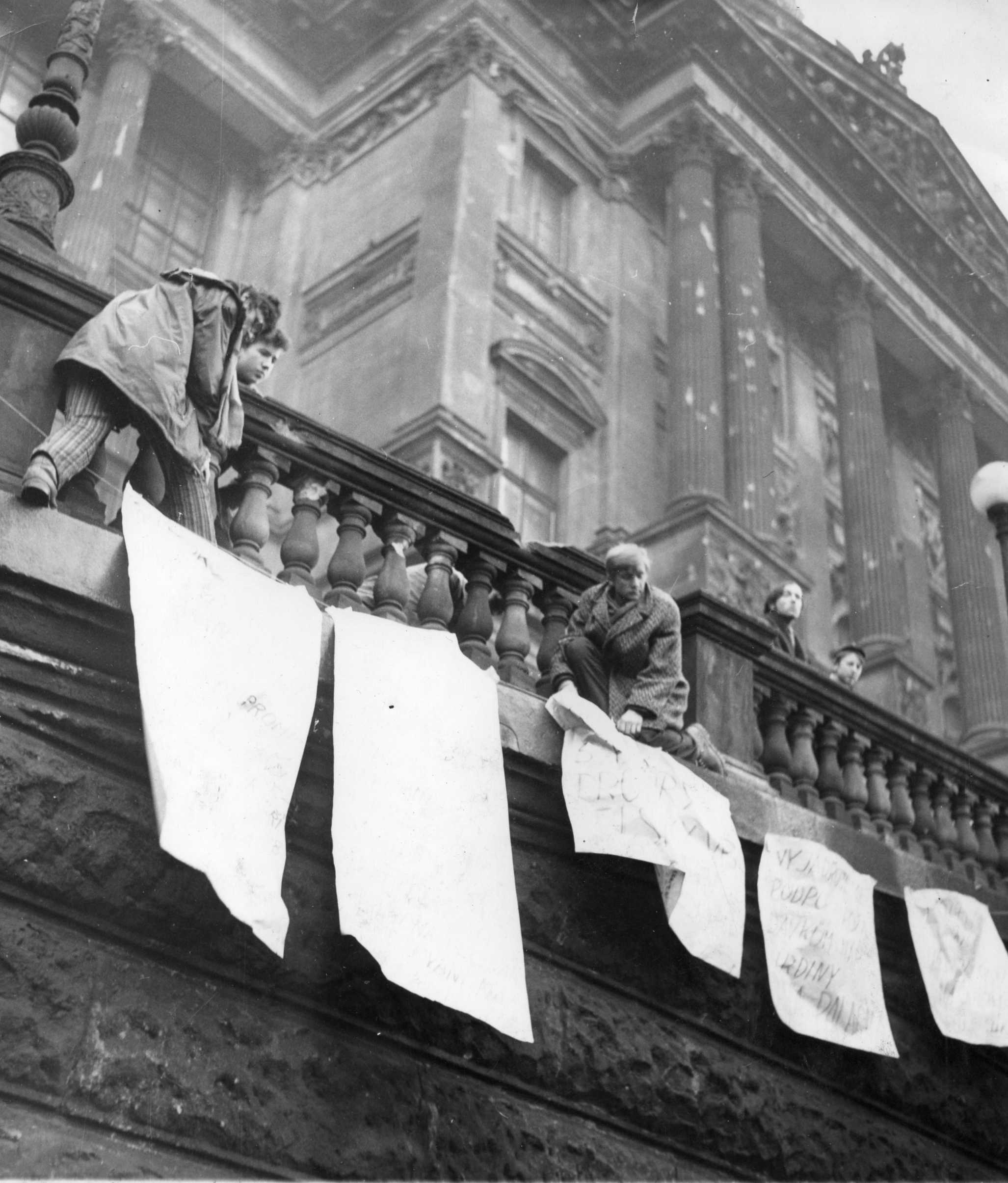 Demonstration in Prague, 1969 (illustrative photo)
