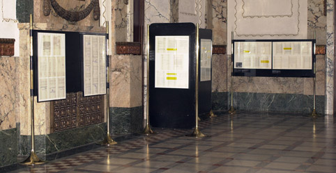 Exhibition on the occasion of the 40th Anniversary of the Declaration on the Name and Position of the Croatian Literary Language, 2007