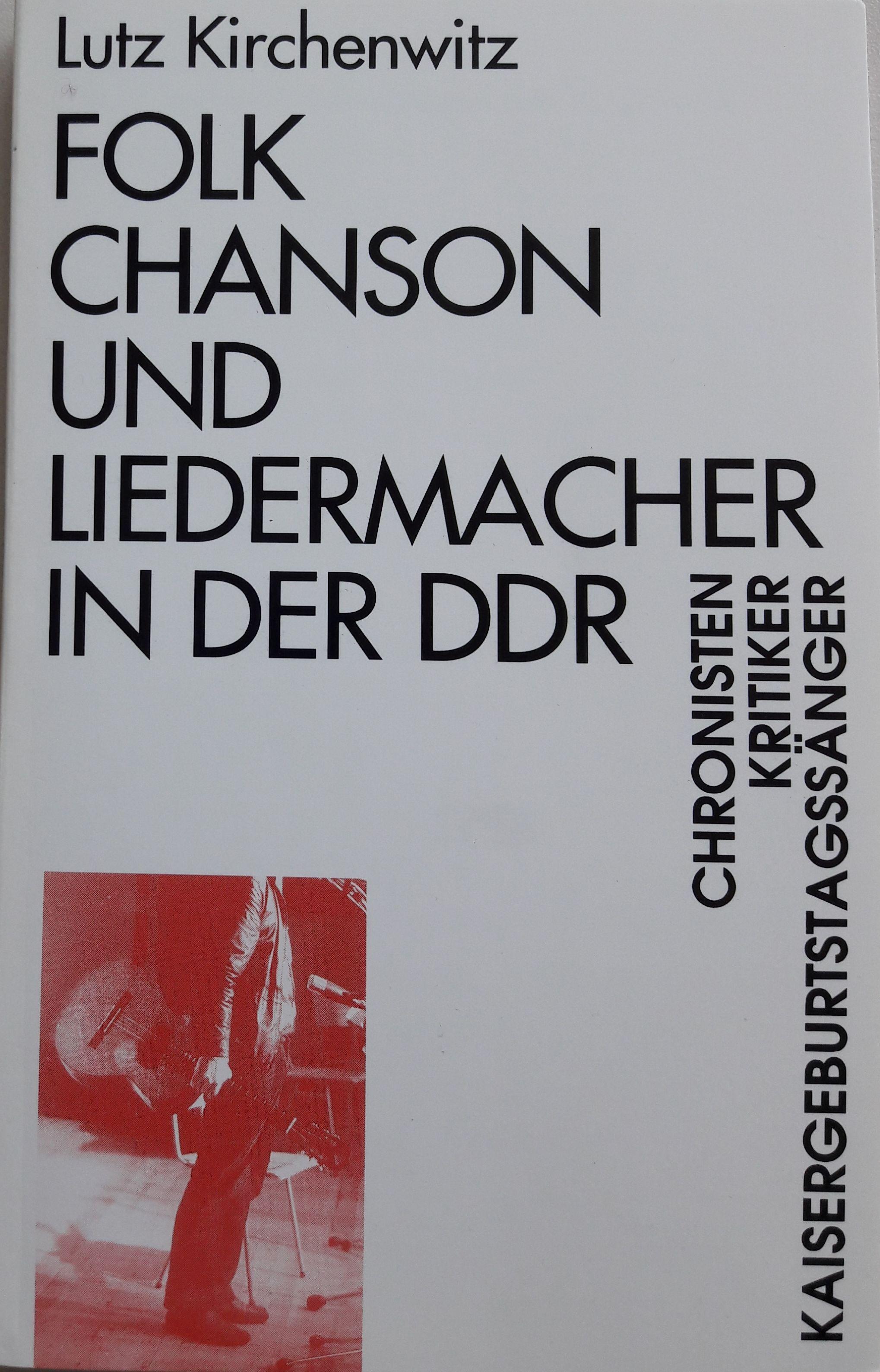 Cover Folk, Chanson und Liedermacher in der DDR