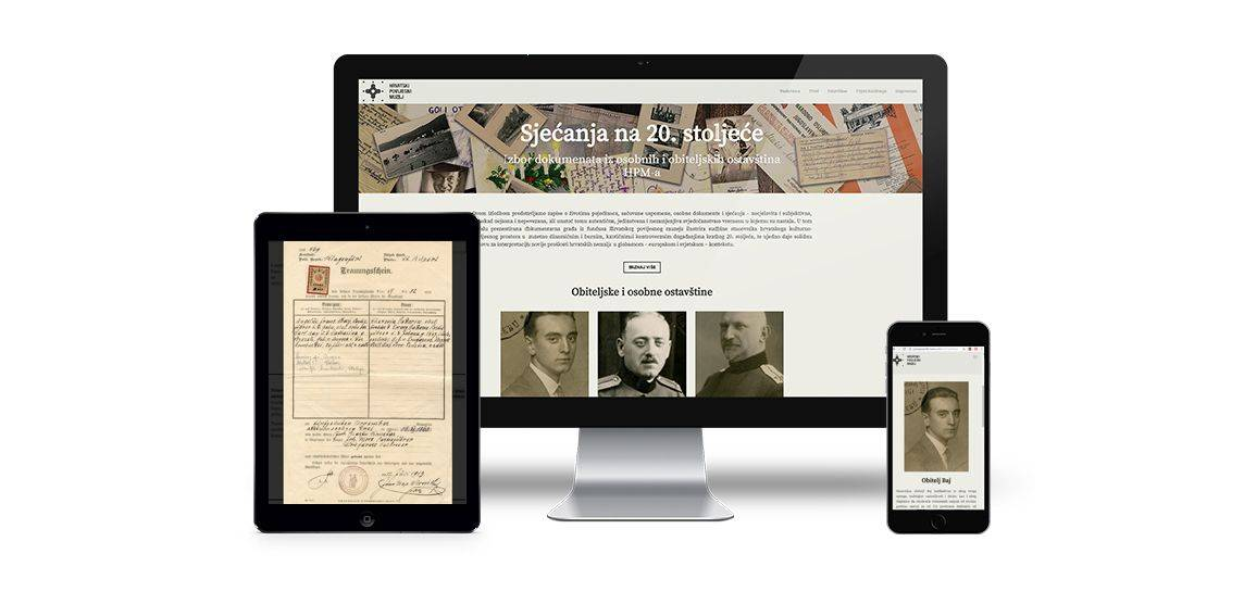 'Memories of the 20th Century' online exhibition by the Croatian History Museum
