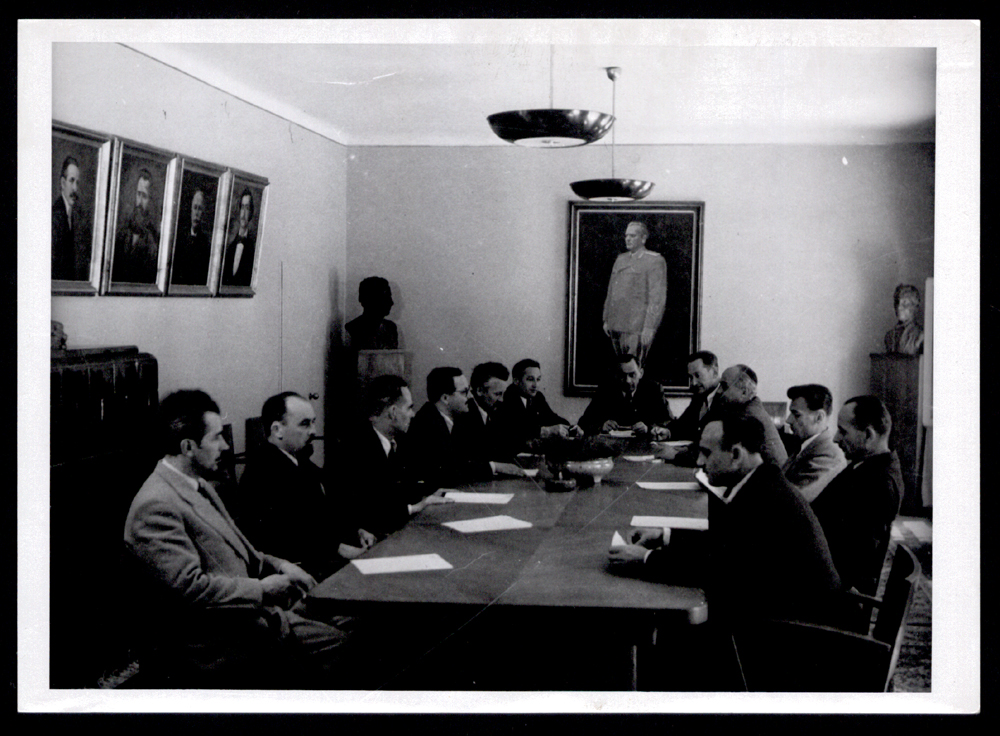 A session of the Executive Committee of the Serb Cultural Association Prosvjeta, undated